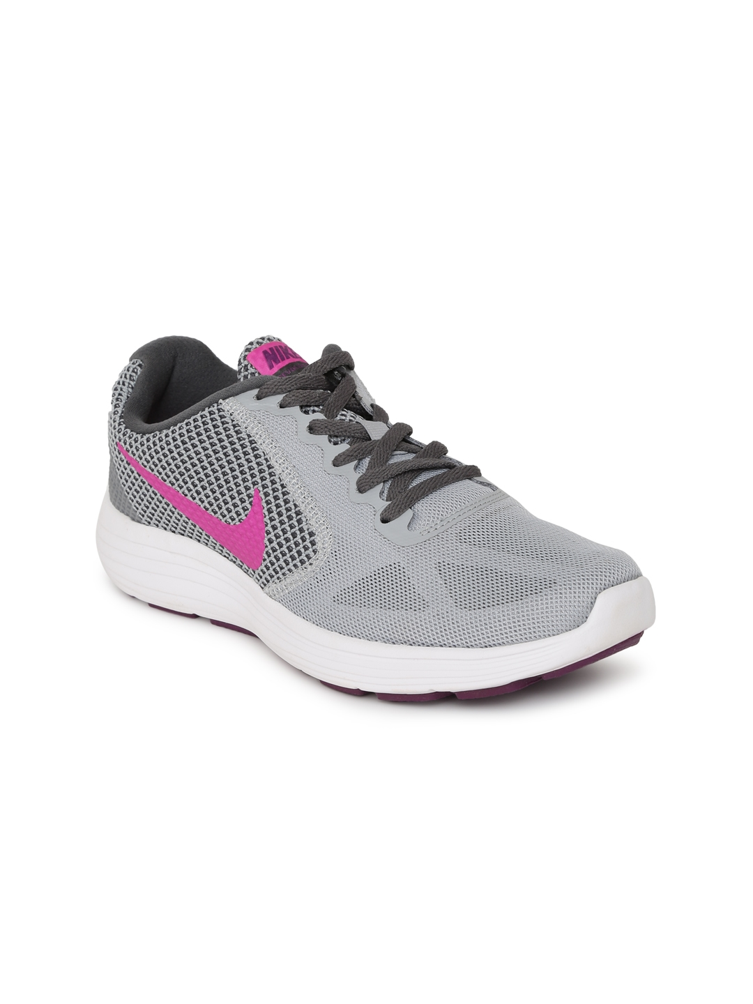 d22598761e2 Buy Nike Women Grey Revolution 3 Running Shoes - Sports Shoes for ...