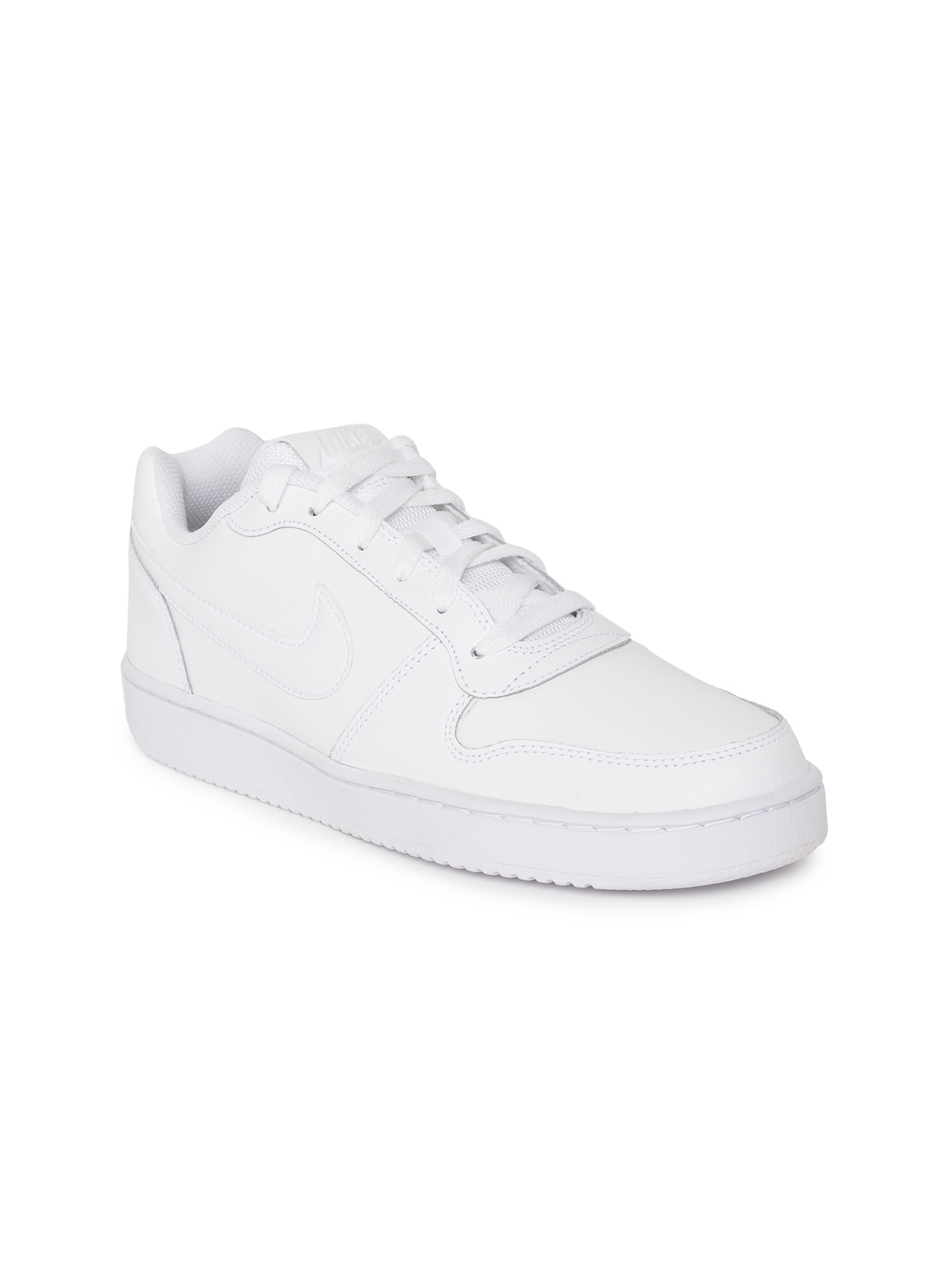 577f0ffac284 Buy Nike Women WHite Ebernon Low Leather Sneakers - Casual Shoes for ...