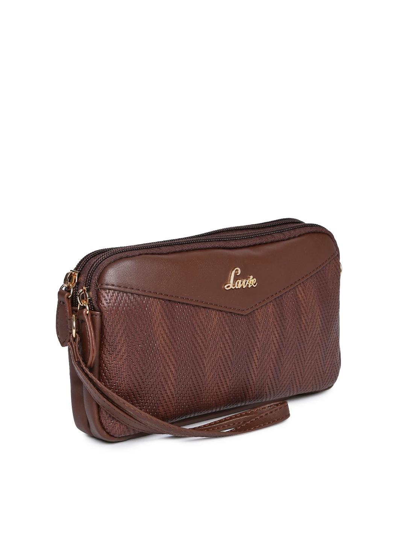 7af4fa95760 Buy Lavie Brown Textured Sling Bag - Handbags for Women 8057655