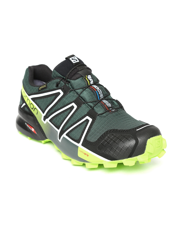 57afaee06721e Buy Salomon Men Green SPEEDCROSS 4 GTX Running Shoes - Sports Shoes ...