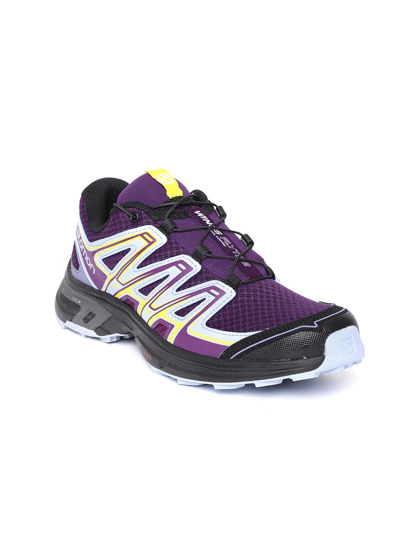 895b4c0ee355 Buy Salomon Women Purple WINGS FLYTE 2 Running Shoes - Sports Shoes ...