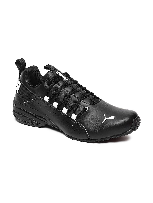 Puma Men Black Hexa Dot Running Shoes