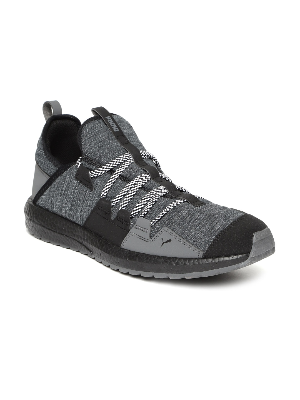 9c388cc8eeb0 Buy Puma Men Grey   Black Mega NRGY Trail Running Shoes - Sports ...
