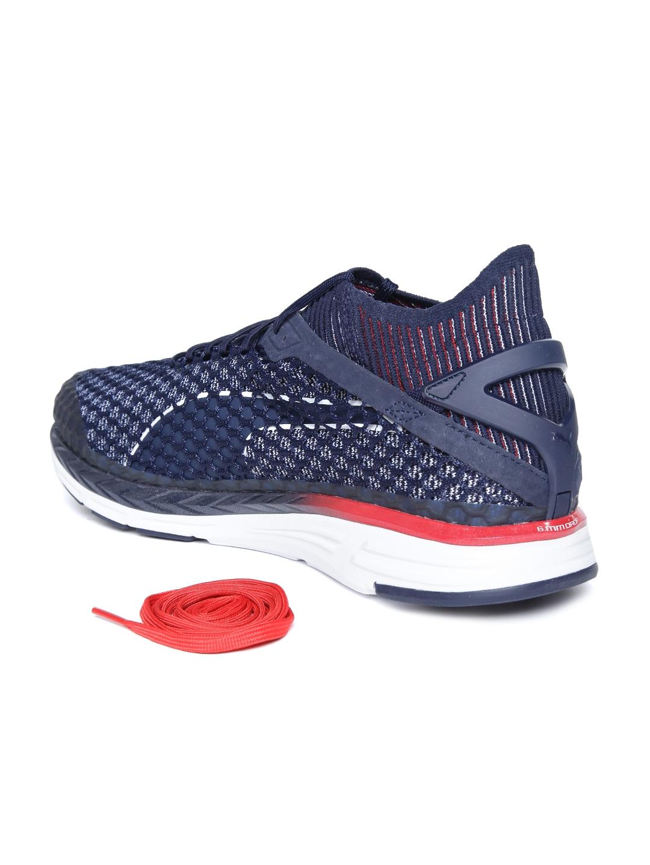 c0a1ca4d1191 Buy Puma Men Navy Blue Speed Ignite Netfit 2 Running Shoes - Sports ...