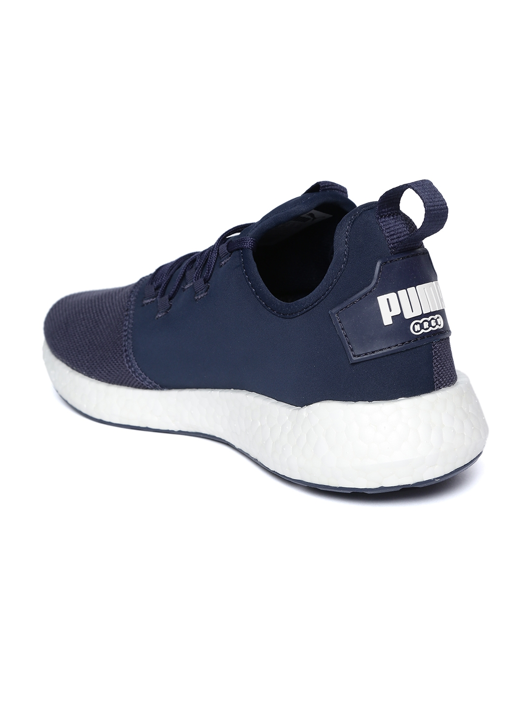 Buy Puma Men Navy NRGY Neko Sport Running Shoes - Sports Shoes for ... ec2806176