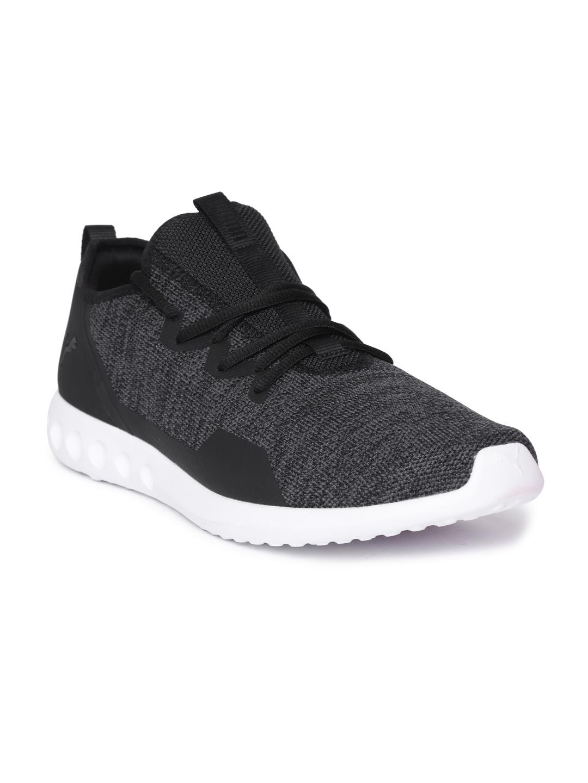 Buy Puma Men Black Carson 2 X Knit Running Shoes - Sports Shoes for ... 1aa02cbd1