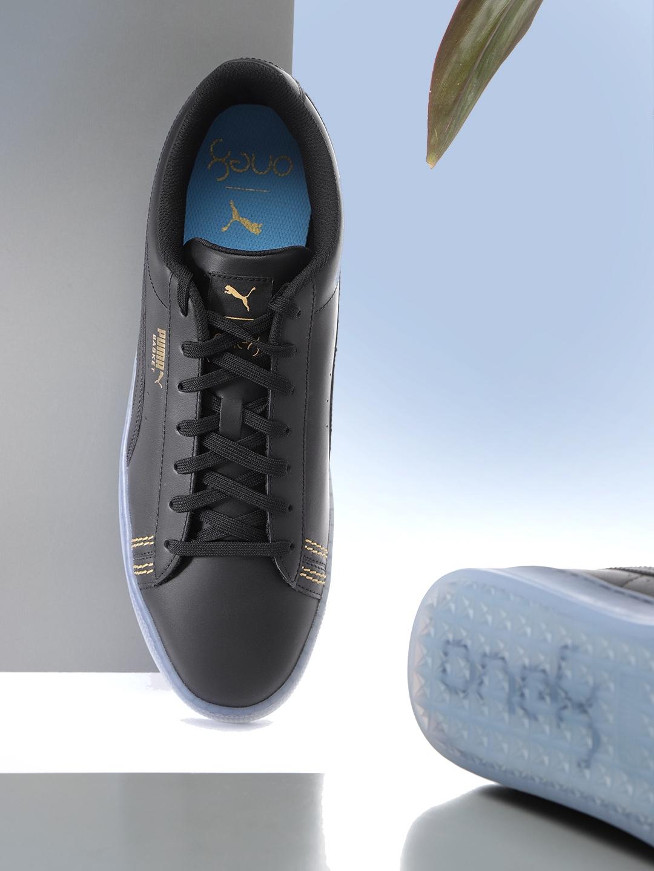 premium selection b0430 e0500 Puma Unisex Black Basket Classic One8 Sneakers