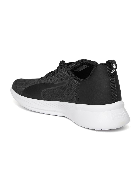 f28f7e3f1f8b Buy Puma Unisex Black Tishatsu Runner Running Shoes - Sports Shoes ...