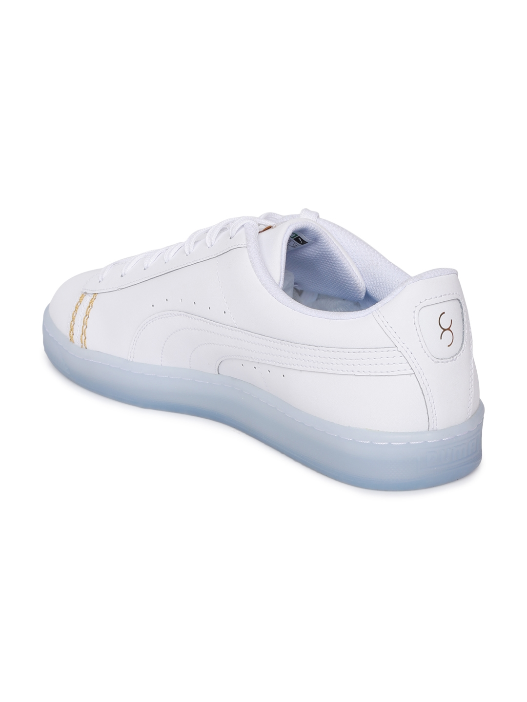 online retailer 72dea 89596 Buy Puma Unisex White Basket Classic One8 Sneakers - Casual ...