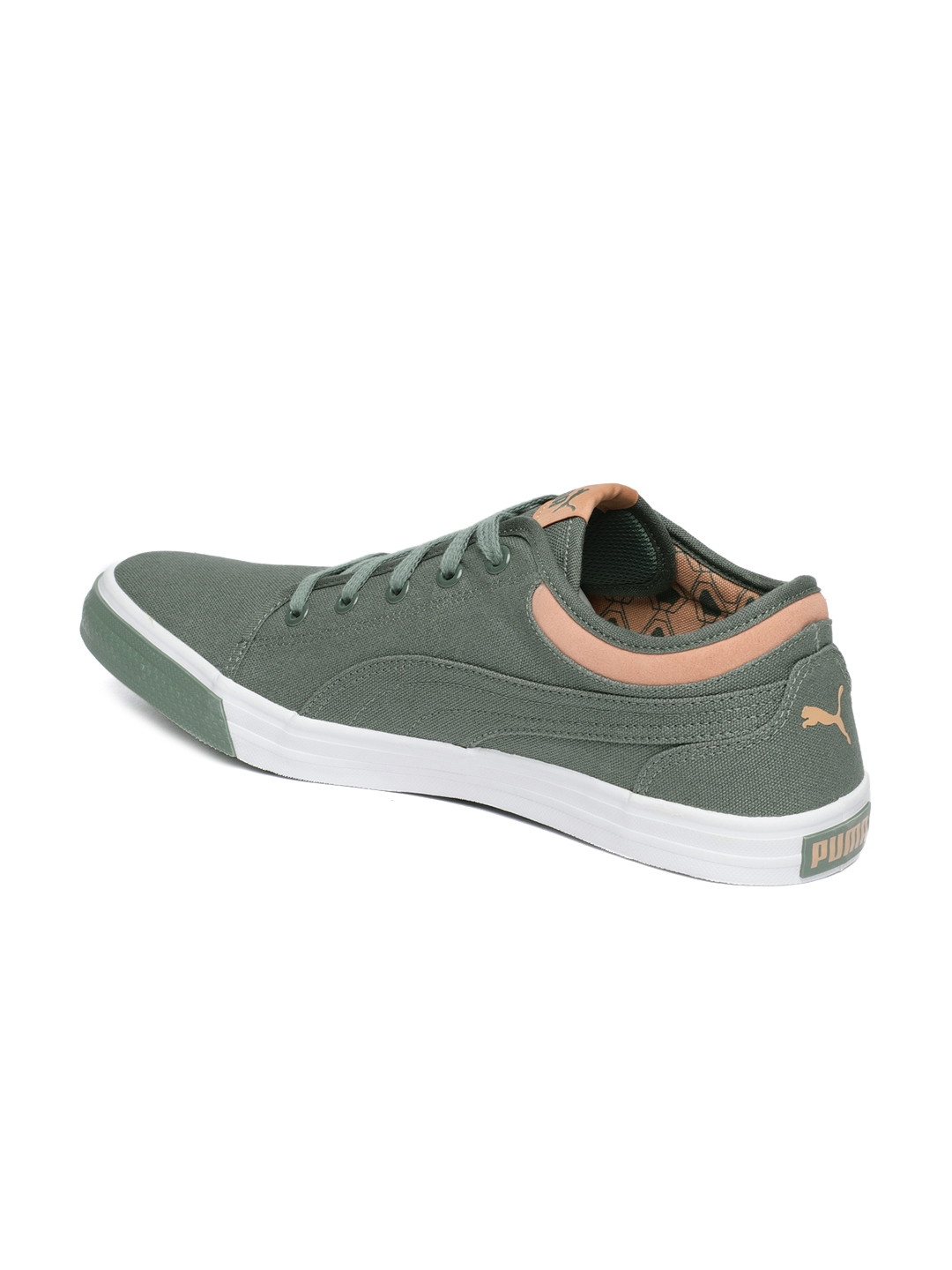 a9e89a262f13 Buy Puma Unisex Olive Green Yale Gum 2 IDP Sneakers - Casual Shoes ...