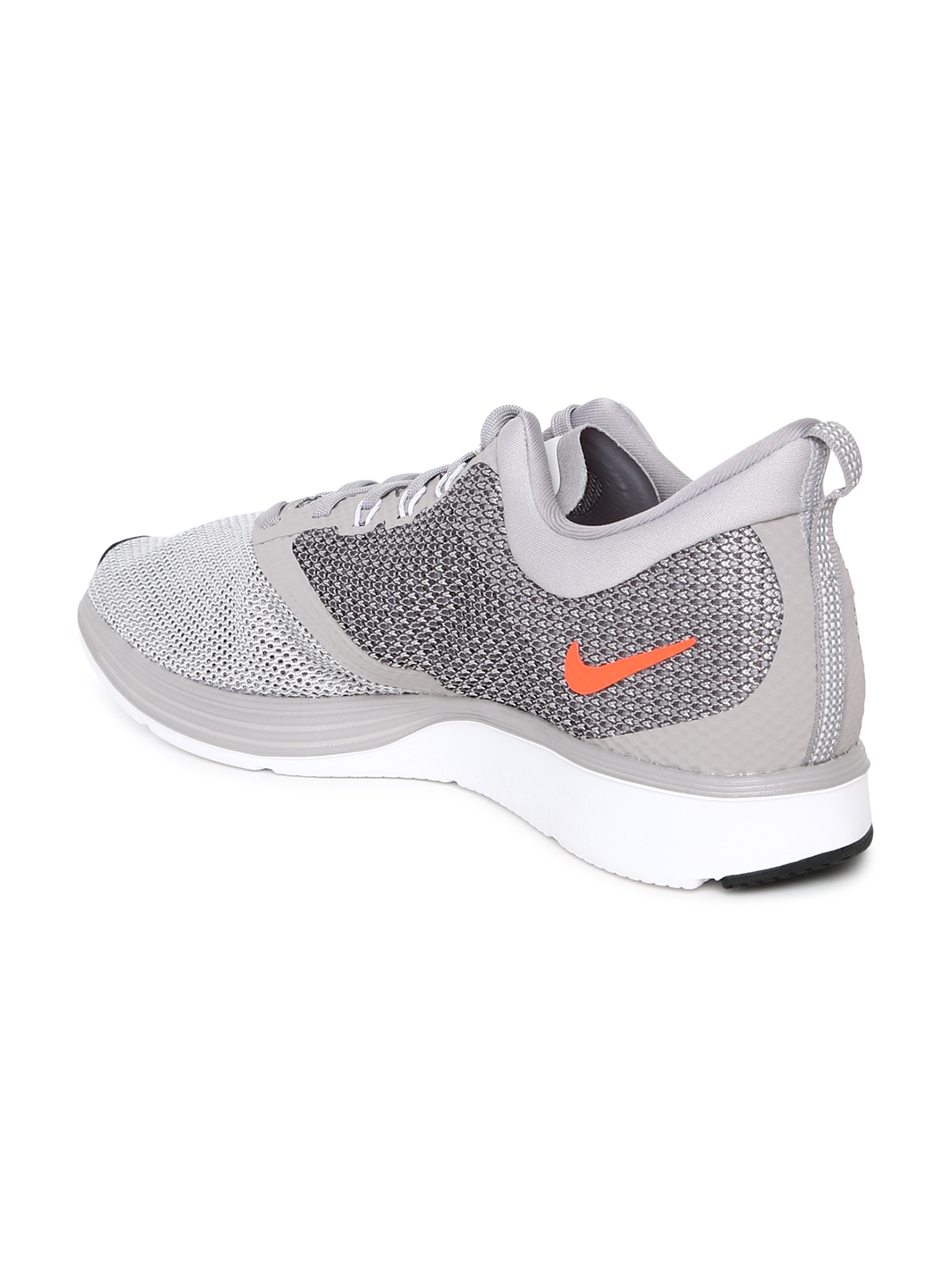 ce80bfbdbcdd Buy Nike Men Grey Zoom Strike Running Shoes - Sports Shoes for Men ...
