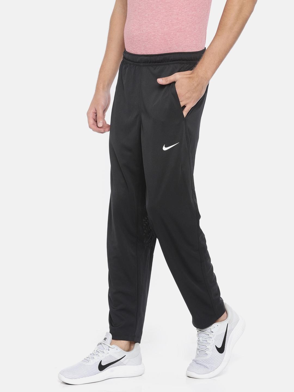Black Dry Cricket Dri Fit Track Pants