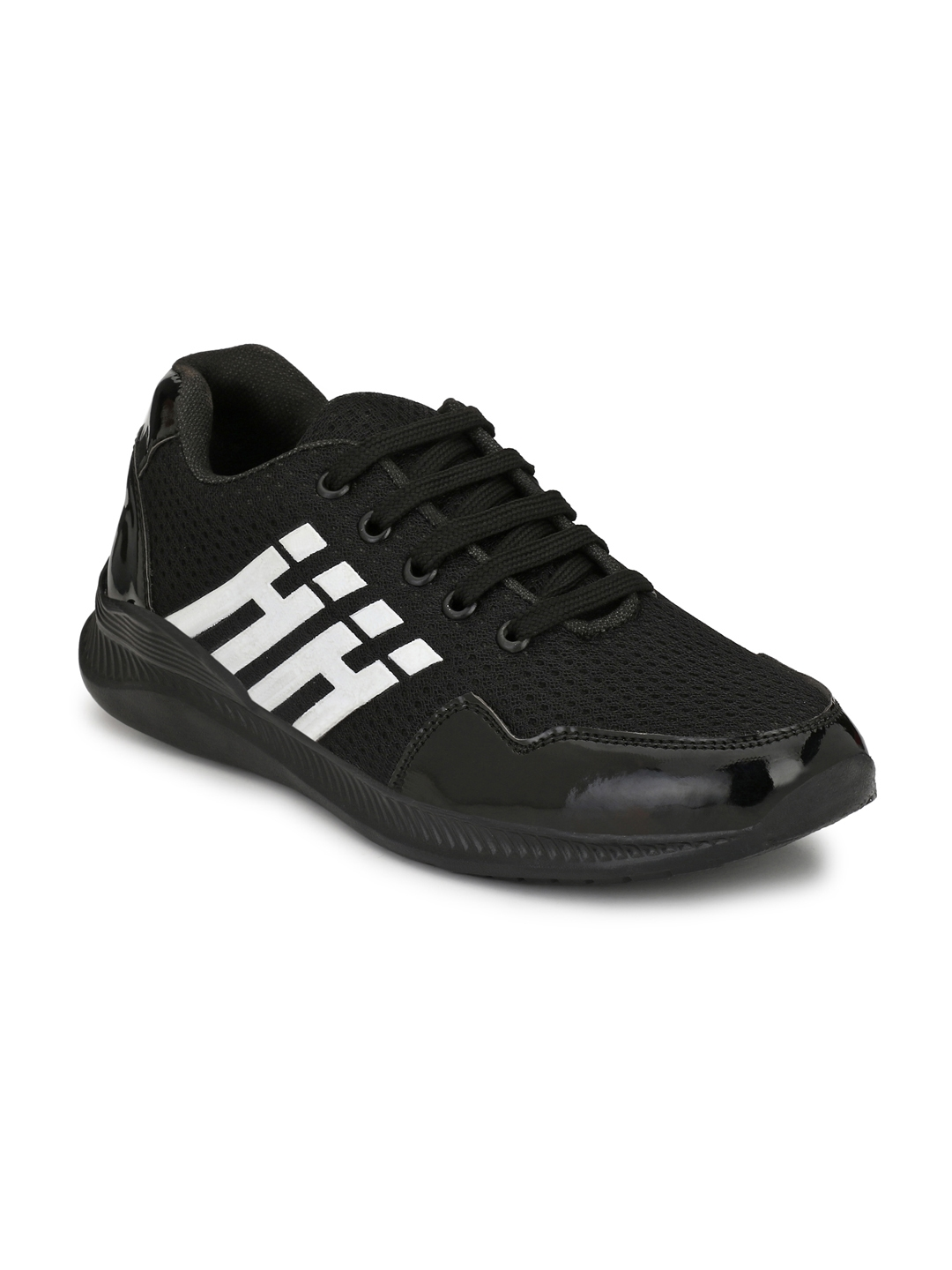 Men Black Sneakers at Rs.599