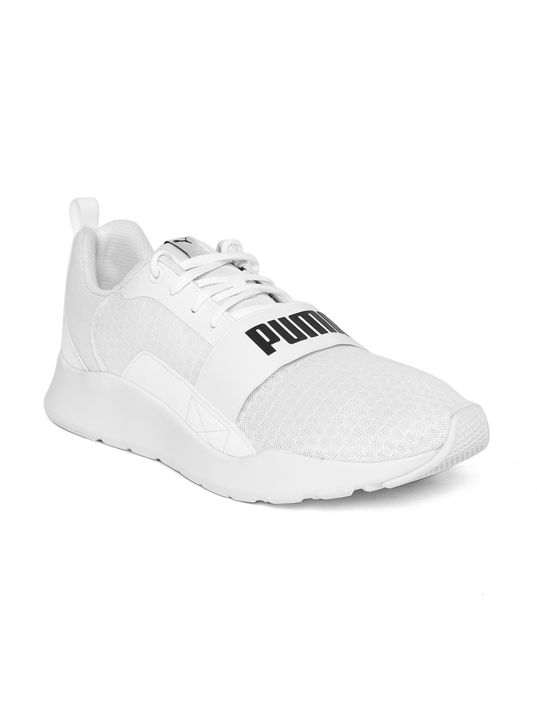 Puma Unisex White Wired Sneakers