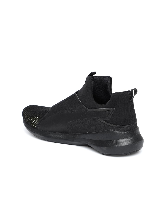 Buy Puma Women Black Rebel Mid LX Sneakers - Casual Shoes for Women ... 9ac4aa8c6