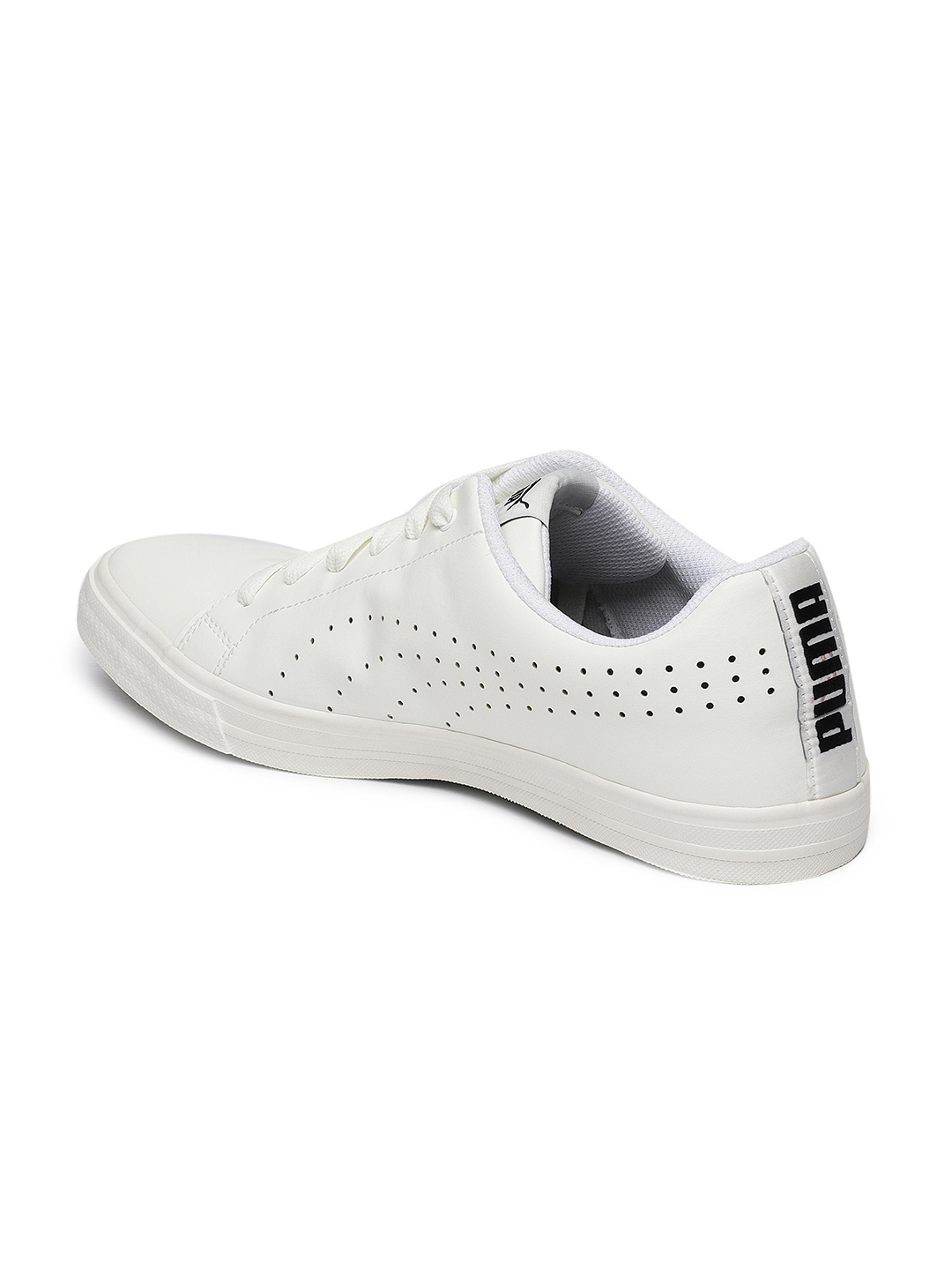 74334703b09 Buy Puma Men White Poise Perf IDP Sneakers - Casual Shoes for Men ...