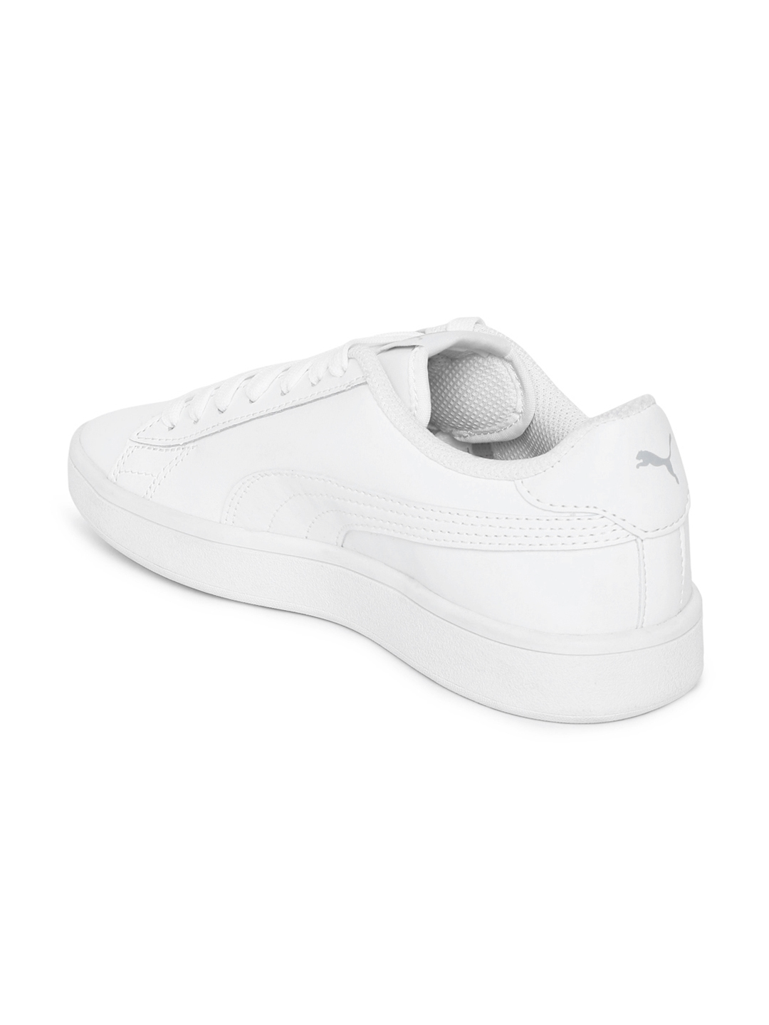 04b8c135a9 Buy Puma Men White Smash V2 L Leather Sneakers - Casual Shoes for ...