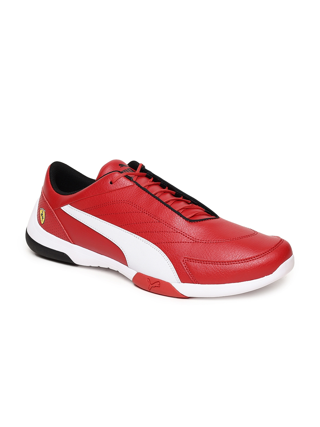 Buy Puma Unisex Red SF Kart Cat III Rosso Corsa Sneakers - Casual ... 8f6f185c0