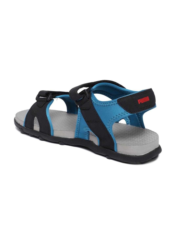 eda2b656ca34 Buy Puma Men Black   Blue Starry II IDP Sports Sandals - Sports ...