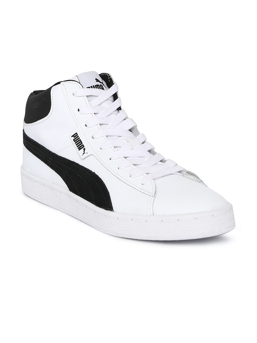 19a329e9bbe Buy Puma Men White 1948 Mid SL IDP Mid Top Sneakers - Casual Shoes ...