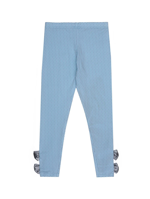8109b28b7471f Buy DChica Girls Blue Printed Leggings - Leggings for Girls 8130897 ...