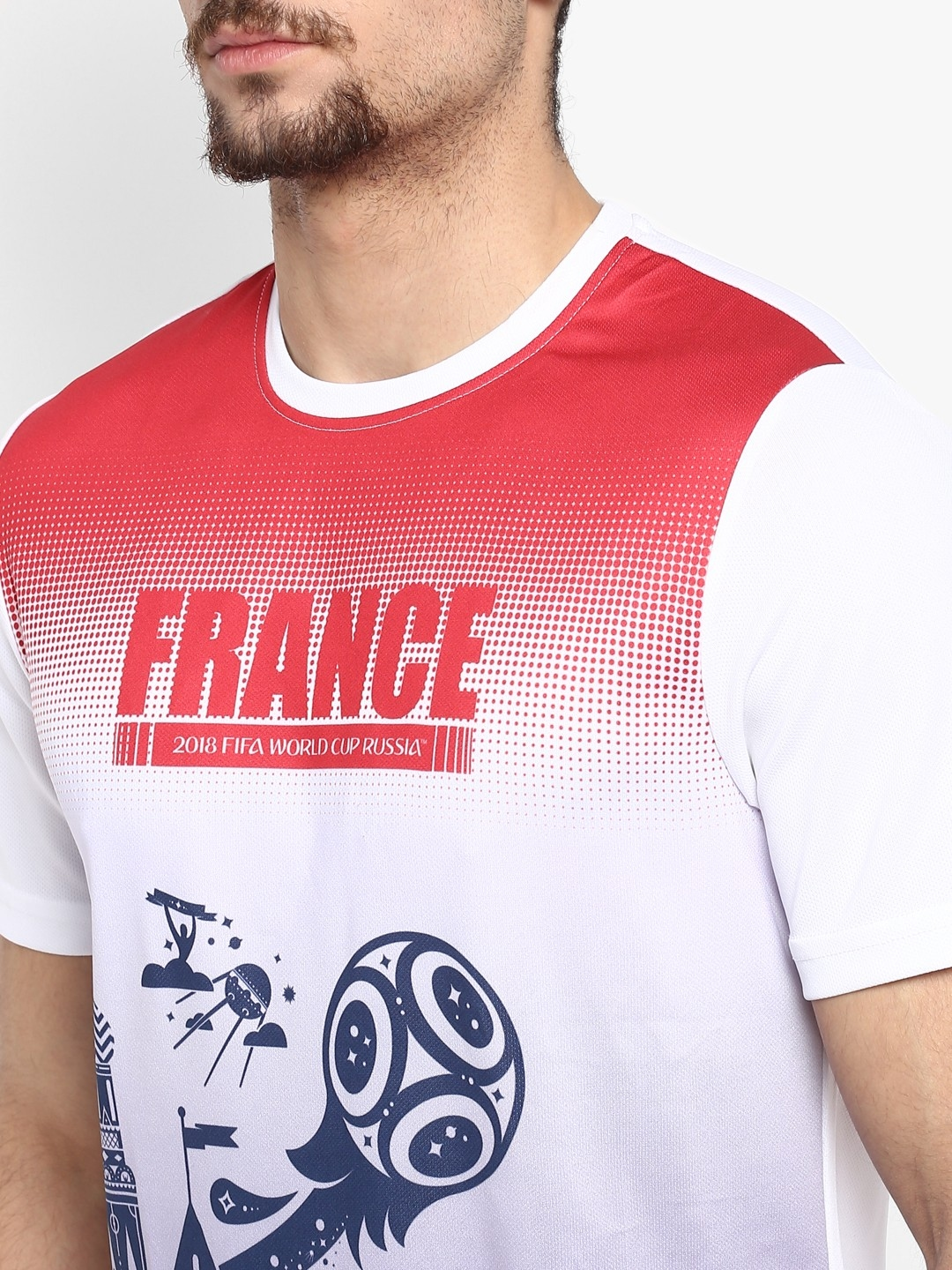 486924b0d11 Fifa World Cup T Shirts Myntra