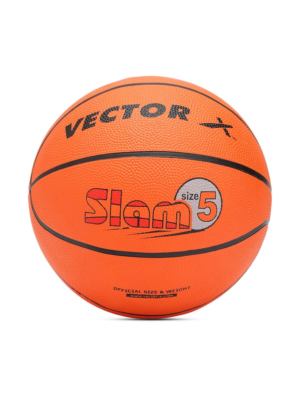 VECTOR X Unisex Orange Printed Slam 8P Basketball