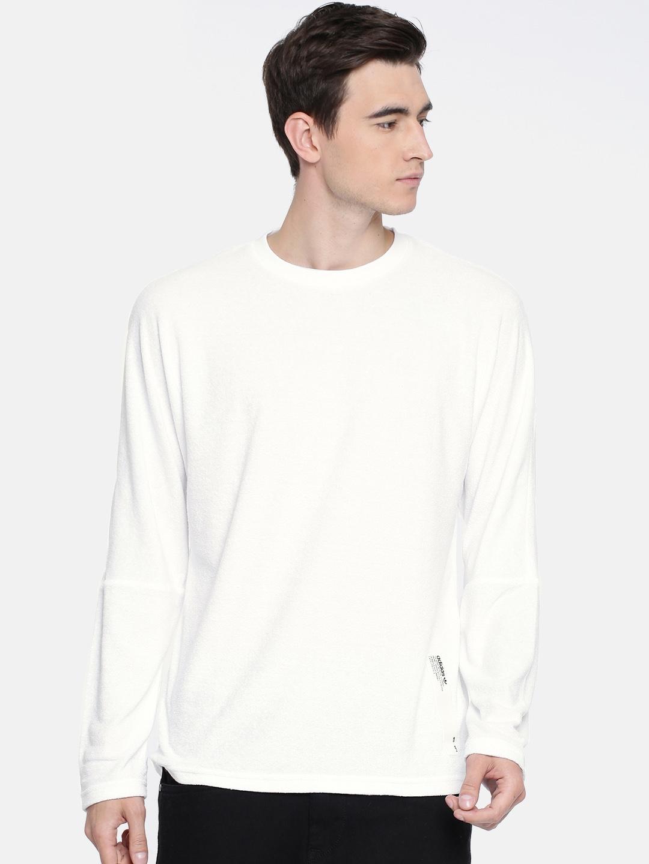 a10e3f9d7e668 Buy White Nmd Longsleeve T Shirt - Tshirts for Men 8168351
