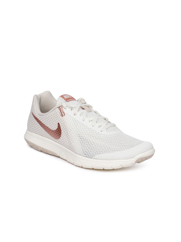 a9b9a04ba7c0b Buy Nike Women White Flex Experience RN 6 Running Shoes - Sports ...