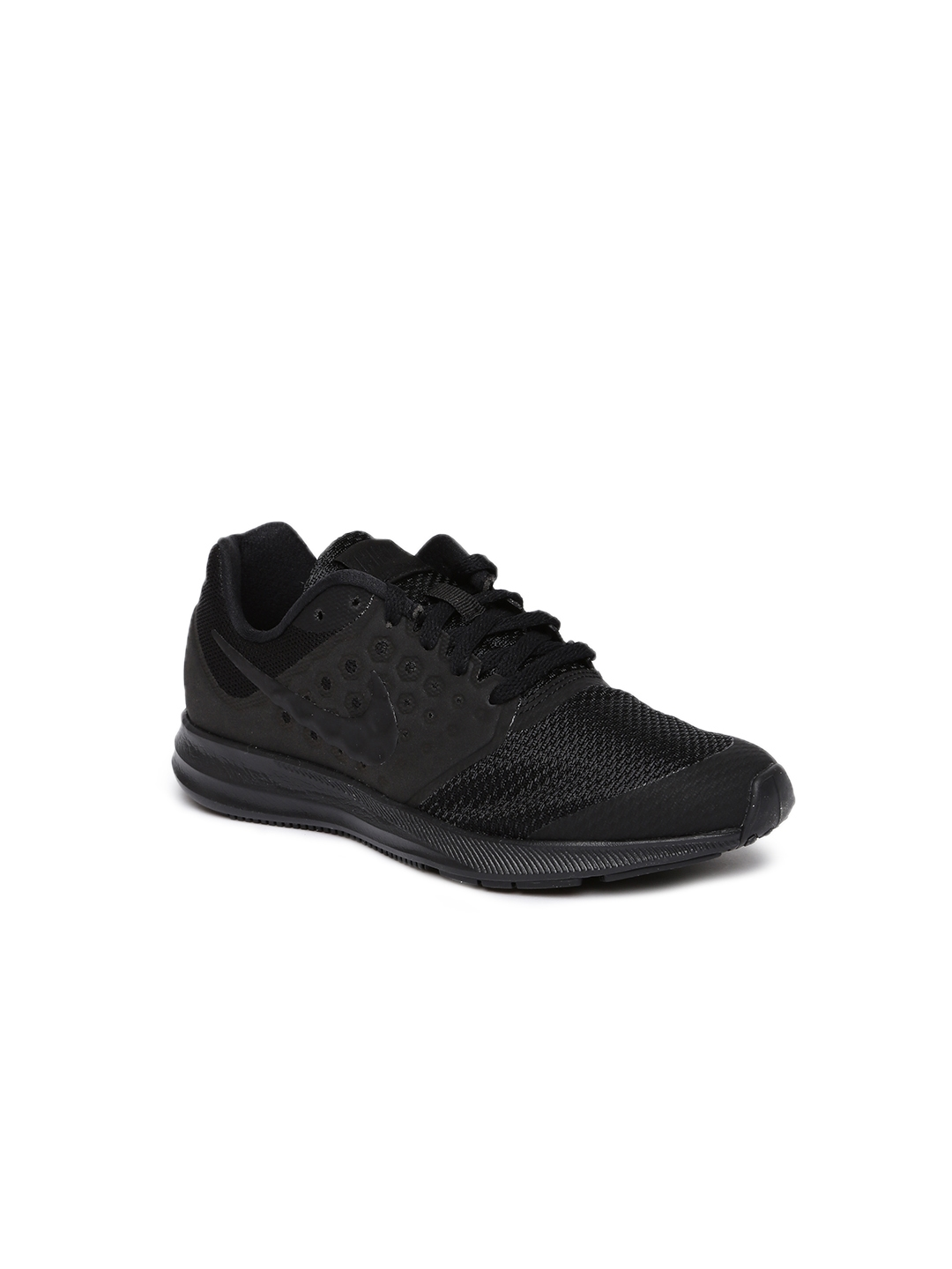 7aa066980990f Buy Nike Boys Black DOWNSHIFTER 7 Running Shoes - Sports Shoes for ...