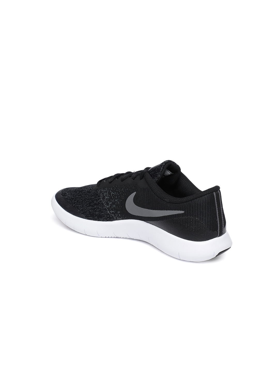 fce52bf99aba Buy Nike Boys Black Flex Contact (GS) Running Shoes - Sports Shoes ...