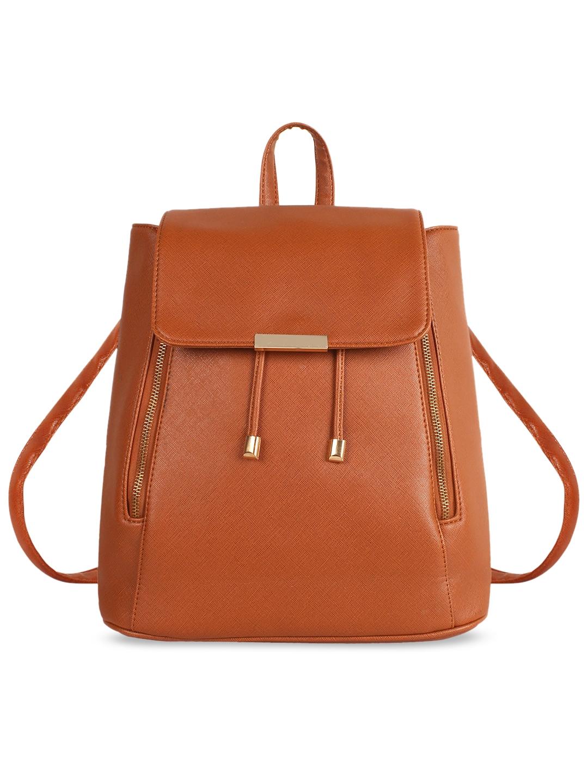 Lychee bags Tan Brown Solid Shoulder Bag
