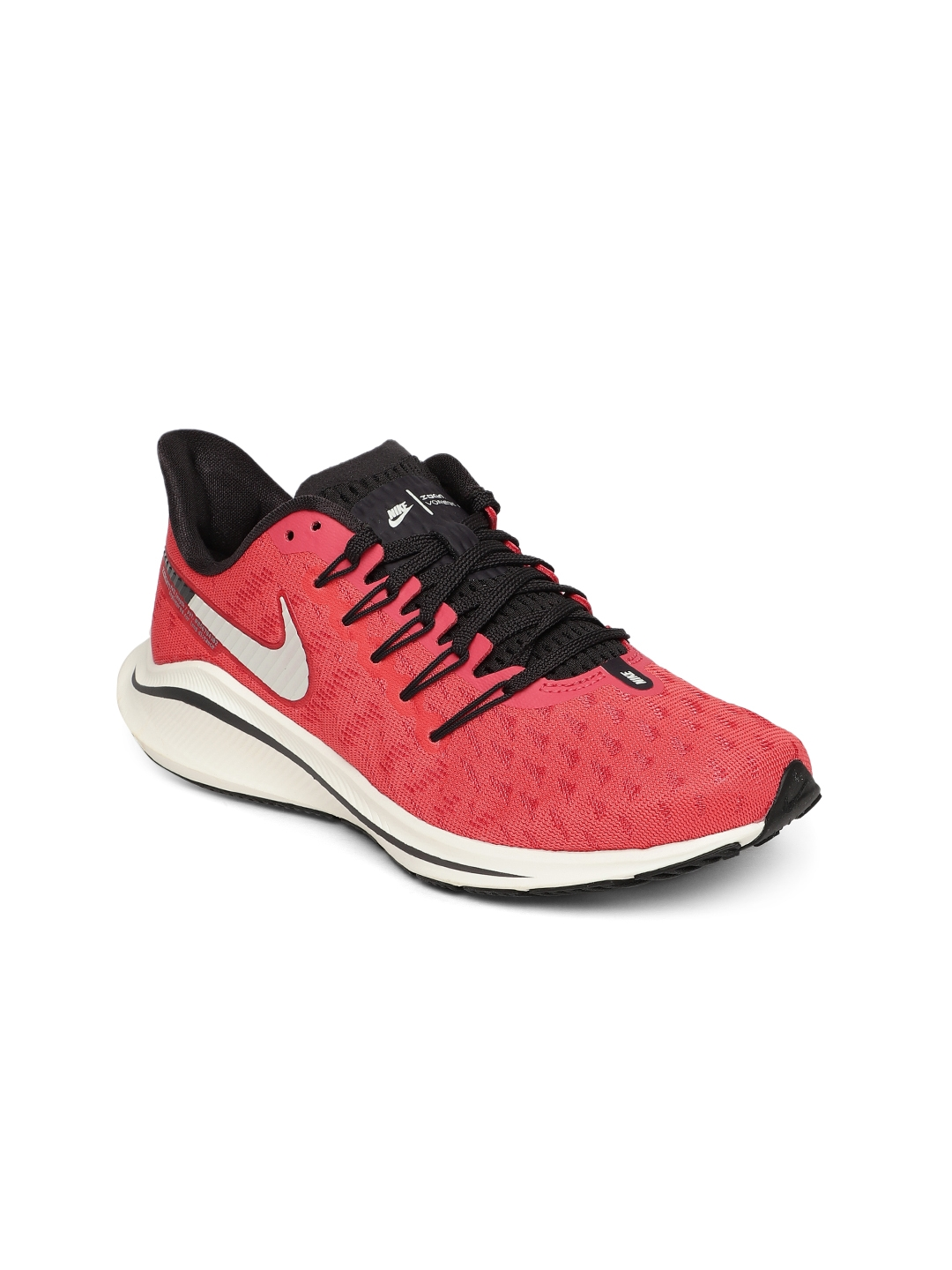 online store 5e5bf a40d9 Nike Women Pink AIR ZOOM VOMERO 14 Running Shoes