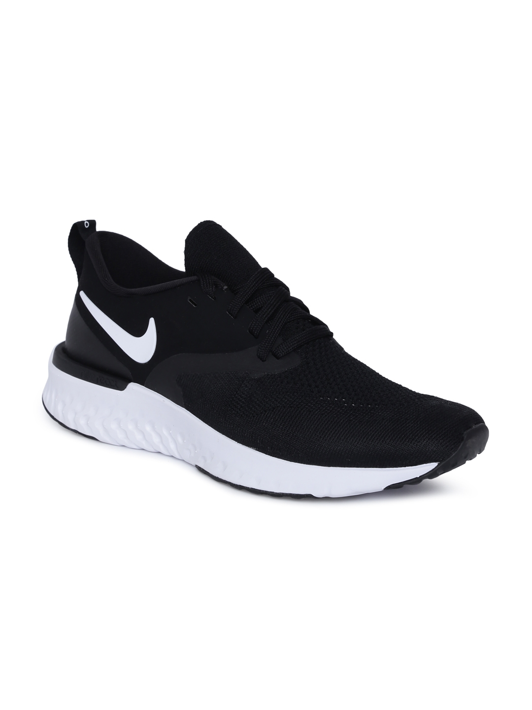 info for 02a06 57dd7 Nike Men Black Odyssey React Flyknit 2 Running Shoes