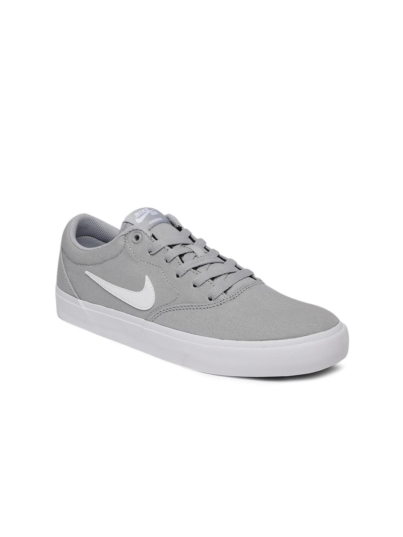 the latest 440fc f9b4f NIKE Unisex Grey SB CHARGE Skateboarding Shoes