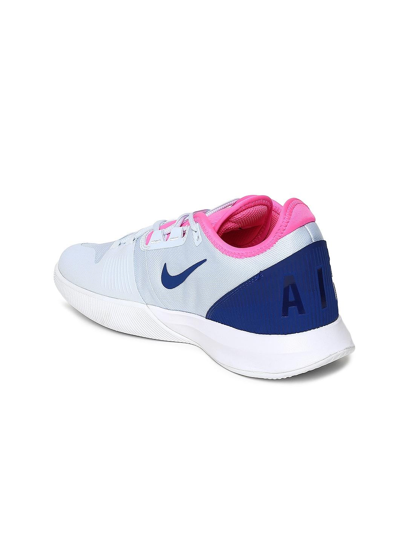 pretty nice 5a7b2 9f3d7 Nike Women White AIR MAX WILDCARD HC Tennis Shoes