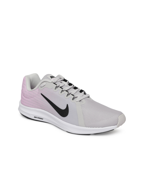 daad941071b2b Buy Nike Women Grey   Off White Downshifter 8 Running Shoes - Sports ...
