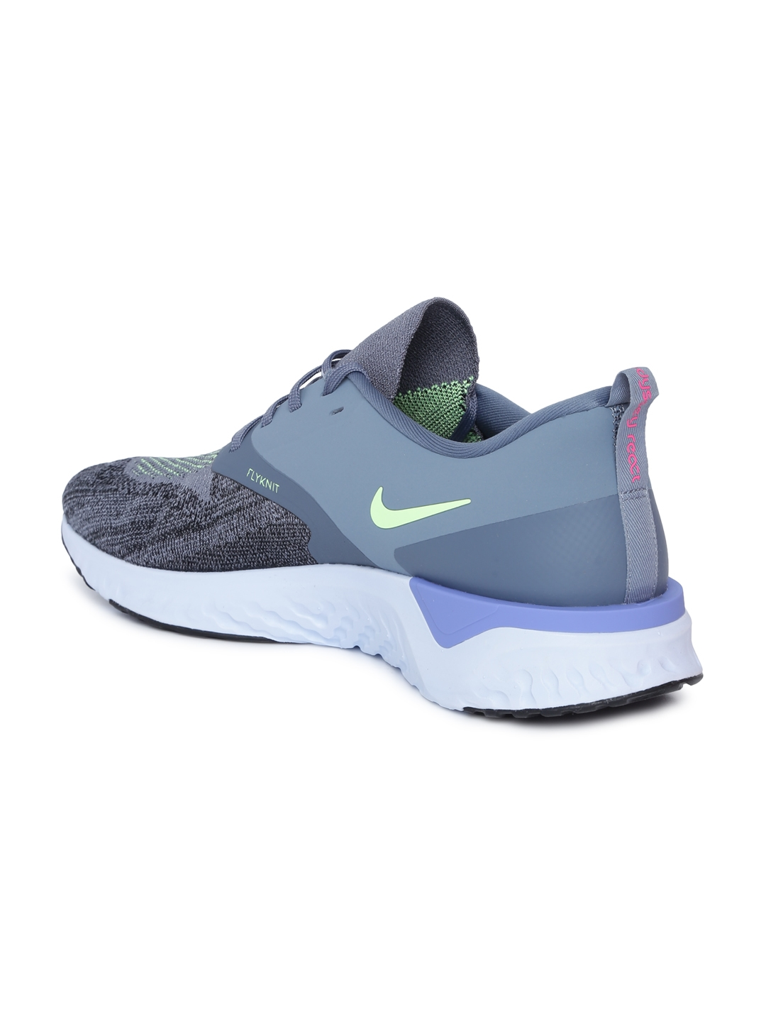 sneakers for cheap 6ad33 22dc3 Nike Men Blue ODYSSEY REACT 2 FLYKNIT Running Shoes
