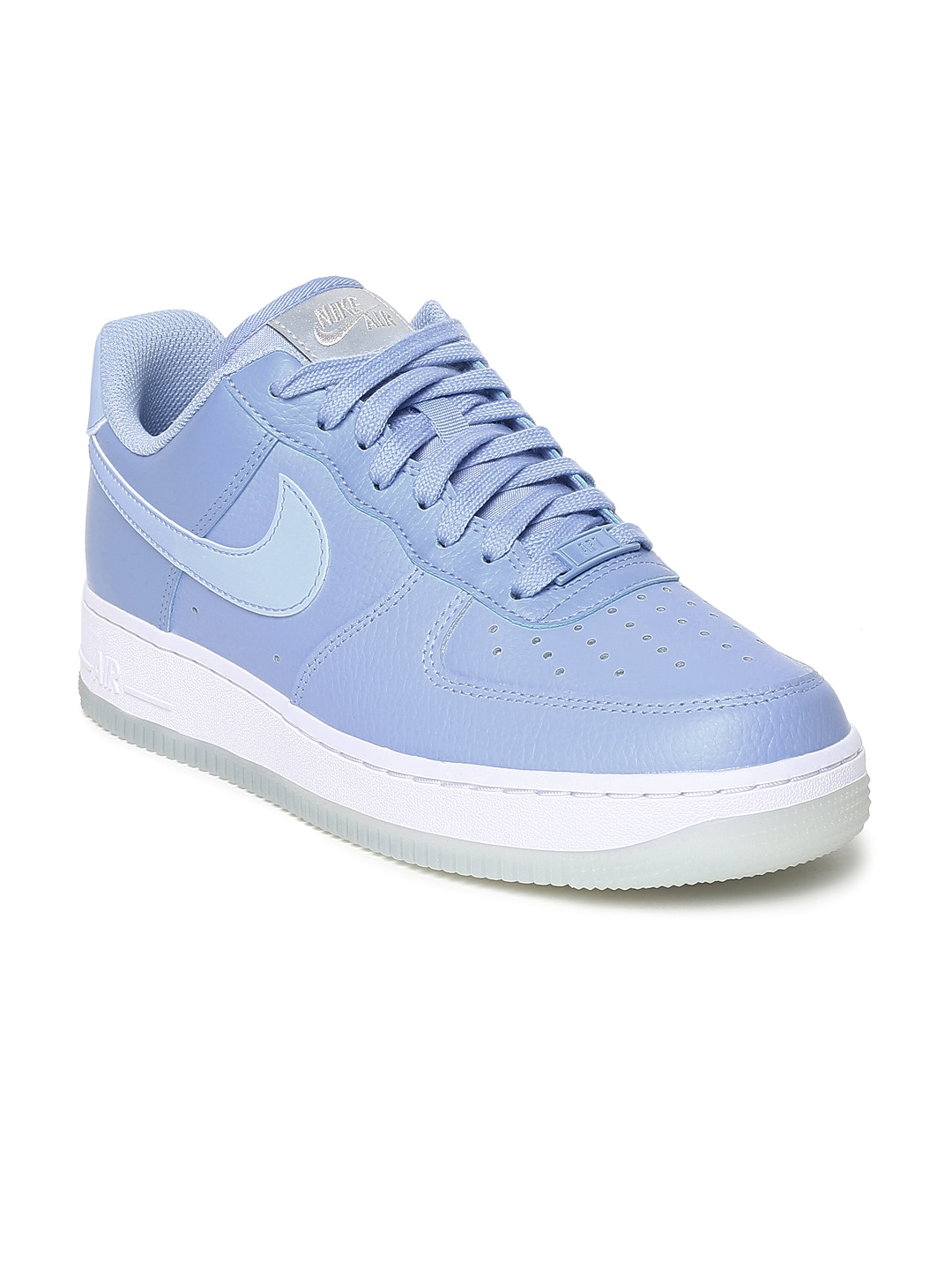 dc4a0ca03 Buy Nike Women Blue Air Force 1 '07 Ess Leather Sneakers - Casual ...