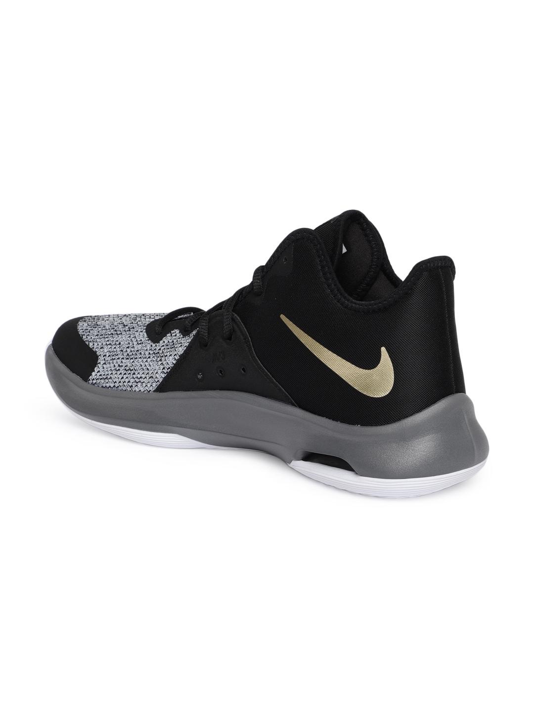 f43d2a8162 Buy Nike Unisex Black Mesh Mid Top Air Versitile III Basketball ...