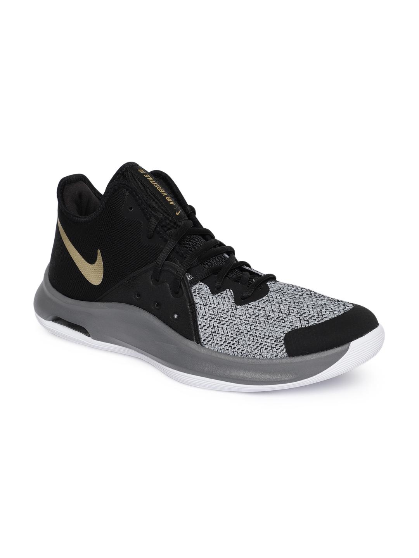 84eb5ec6d476 Buy Nike Unisex Black Mesh Mid Top Air Versitile III Basketball ...