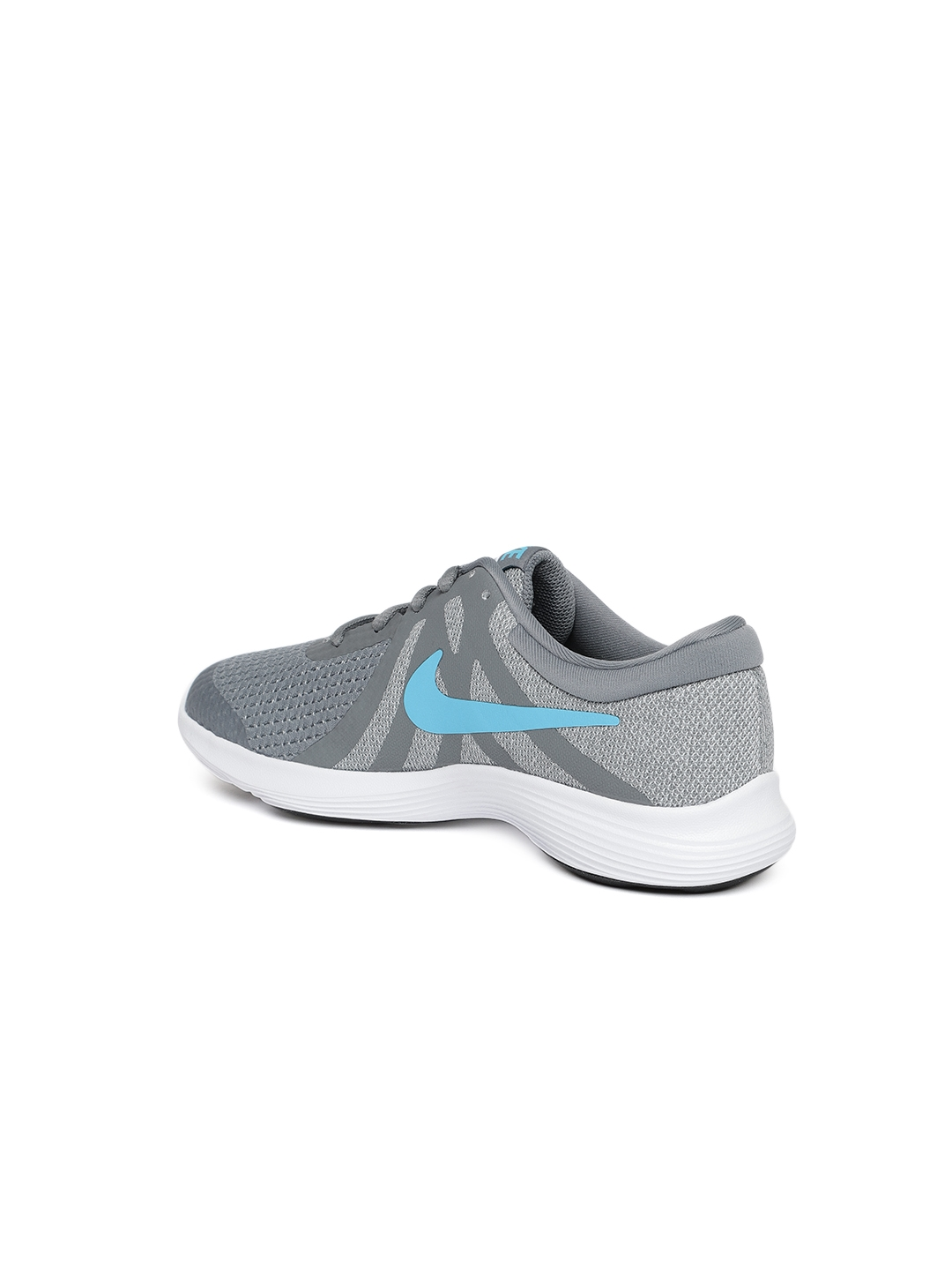 reputable site 02b34 8650e Nike Boys Grey REVOLUTION 4 Running Shoes