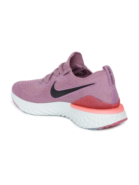 0055b337a8dd Buy Nike Women Purple EPIC REACT FLYKNIT 2 Running Shoes - Sports ...