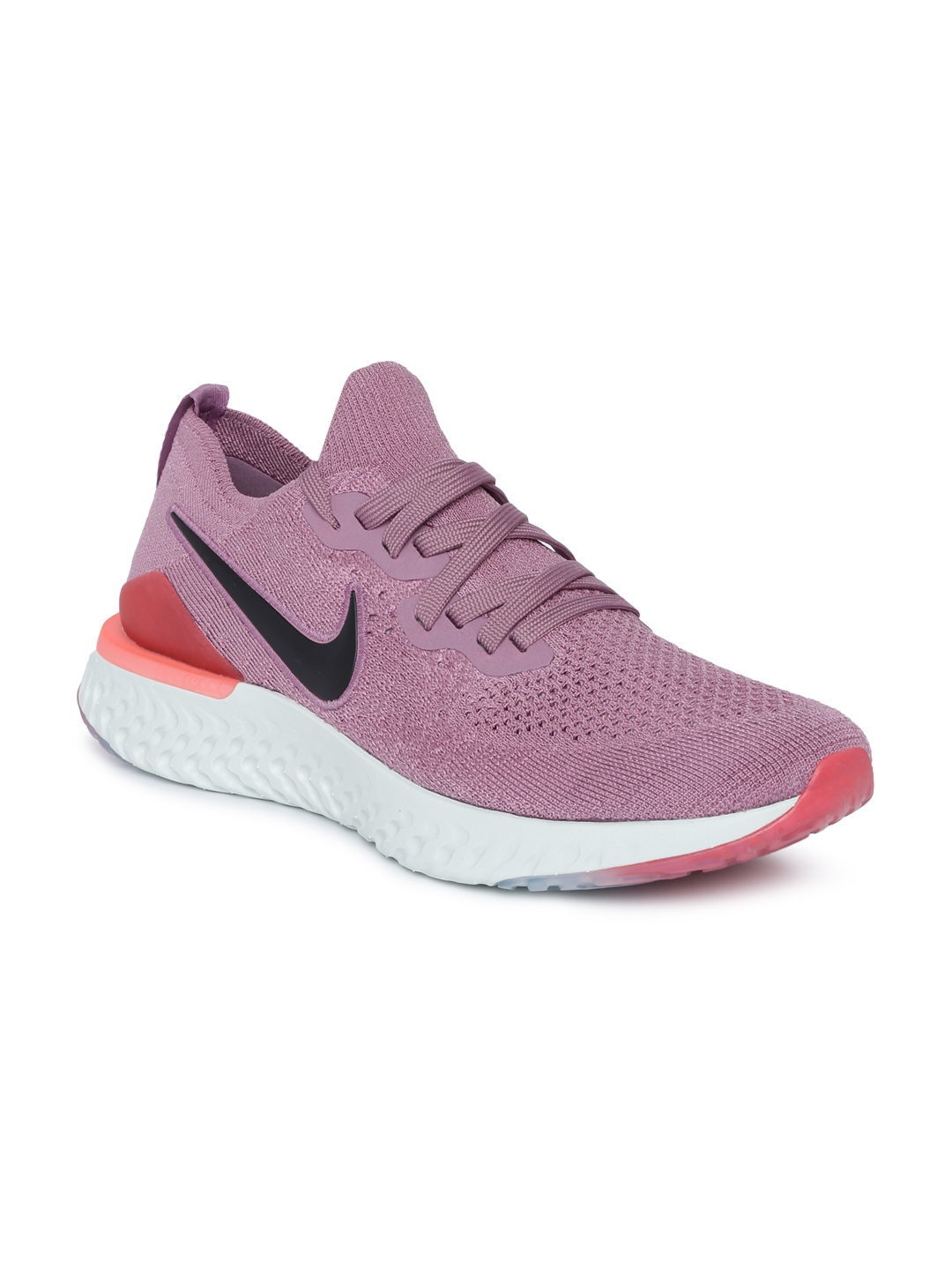 fb91569e751ac Buy Nike Women Purple EPIC REACT FLYKNIT 2 Running Shoes - Sports ...