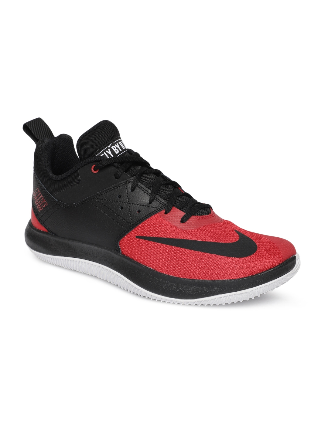 e7dfb391d6b2d Buy Nike Men Black FLY.BY LOW II Basketball Shoes - Sports Shoes for ...