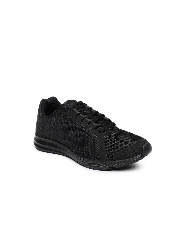 ec958b6c02 Buy Nike Boys Black DOWNSHIFTER 8 (GS) Running Shoes - Sports Shoes ...