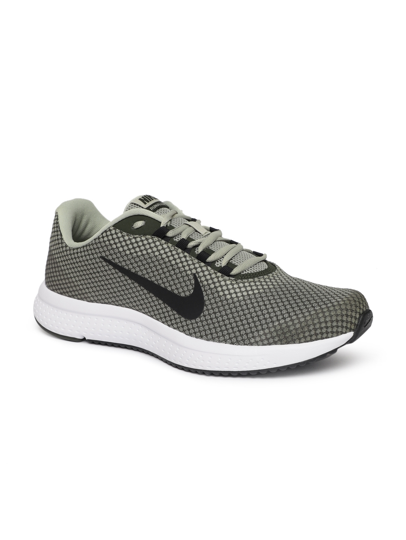 66cd6c8d3da Buy Nike Men Black   Green RUNALLDAY Running Shoes - Sports Shoes ...