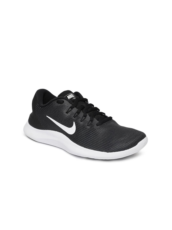 fe20a7e86fa Buy Nike Women Black FLEX 2018 RN Running Shoes - Sports Shoes for ...