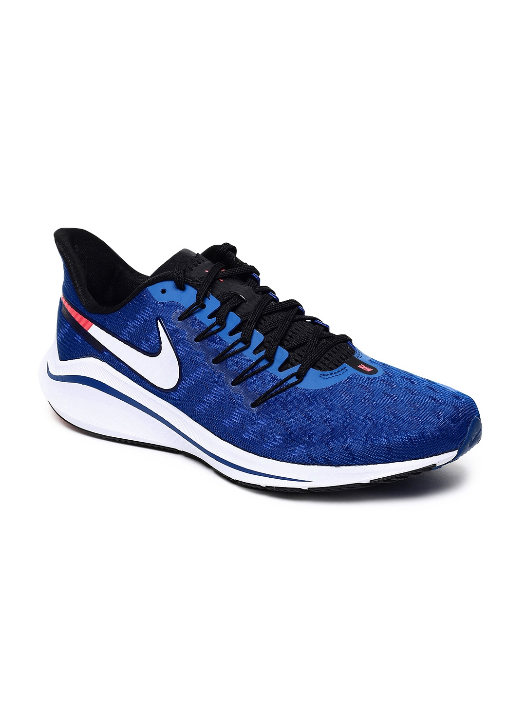 différemment edbc9 25372 Nike Men Blue Air Zoom Vomero 14 Running Shoes