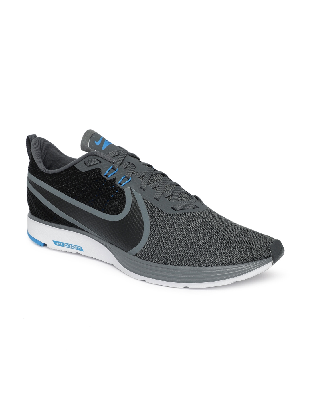 baa5c53bbd2 Buy Nike Men Grey ZOOM STRIKE 2 Running Shoes - Sports Shoes for Men ...